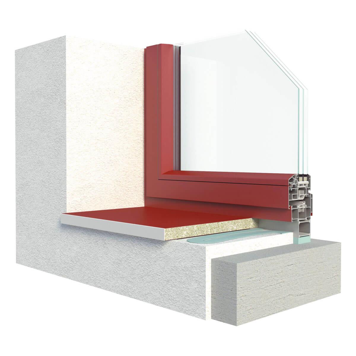 Fensterbänke TOPSET Linear   Fensterbank.de